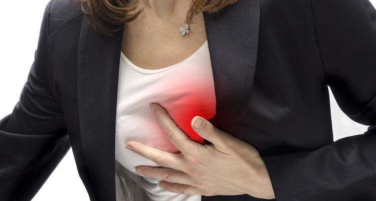 La taquicardia es un sintoma fisico de la ansiedad